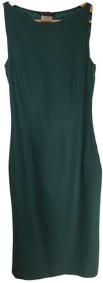 John Galliano Blue Wool Dress for Women Vintage
