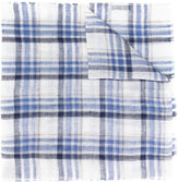Corneliani checked scarf - men - Silk/Linen/Flax - One Size