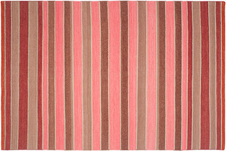 Ralph Lauren Home Barragan Stripe Rug blaze