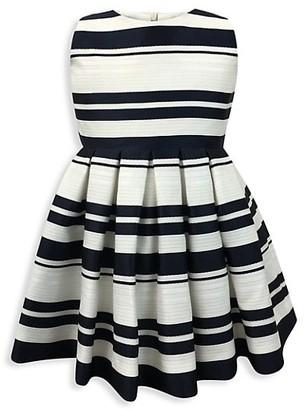 Helena and Harry Baby's, Little Girl's & Girl's Horizon Stripe Fit-&-Flare Dress