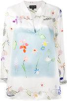 Giorgio Armani floral print blouse - women - Silk - 42