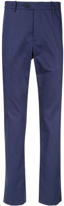 Gieves & Hawkes high-waisted chinos
