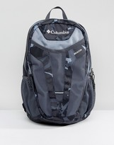 Columbia Beacon 24L Backpack in Black Camo
