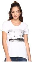Converse Metallic Photo Femme Short Sleeve Tee Women's T Shirt