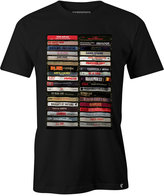 Famous Stars & Straps Men's Hip Hop Tapes Cotton Graphic-Print T-Shirt