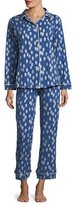 BedHead Ikat Dot Long-Sleeve Classic Pajama Set, Plus Size