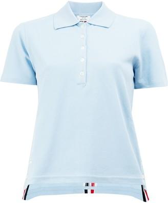 Thom Browne Signature Stripe Polo Shirt