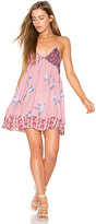 Free People All Mixed Up Slip in Pink. - size M (also in S)