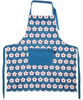 Christopher Vine Navy Cotton Bud Apron