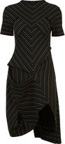 J.W.Anderson striped dress - women - Cotton - XS