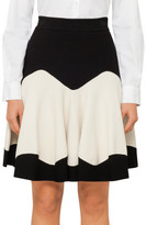 Alexander McQueen Knit Mini Skater Skirt