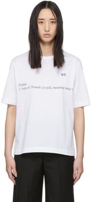 Études White Wikipedia Edition Unity Definition T-Shirt
