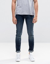 Lee Malone Super Skinny Jeans Deep Shadow