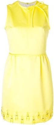 MSGM Embellished Mini Dress