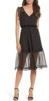 BB Dakota Women's Cal Flutter Sleeve Dress