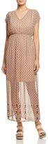 Vero Moda Nabia Print Maxi Dress