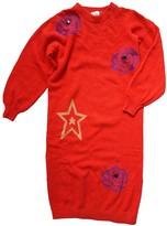 Krizia Red Wool Dress for Women Vintage