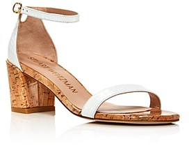 Stuart Weitzman Women's Simple Strappy Sandals
