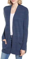 Caslon Open Front Pocket Cardigan