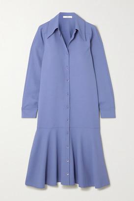 Tibi Jersey Midi Dress - Blue