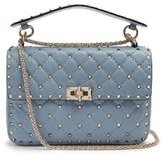 Valentino Rockstud Spike quilted-leather cross-body bag