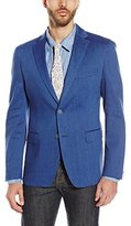 Calvin Klein Men's Mobridge Regular-Fit Half-Lined Linen Jacket