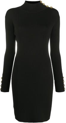 Pinko Button-Detail Mini Dress