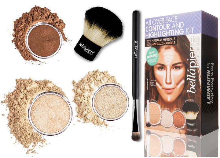 Bellapierre Cosmetics Cosmetics All Over Face Highlight & Contour Kit - Fair