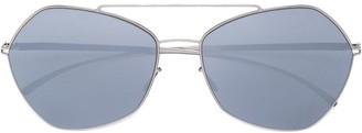 Mykita x Maison Margiela 'MMESSE0012' aviator sunglasses