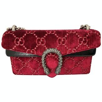 Gucci Dionysus Red Velvet Handbags