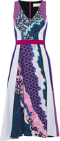 Peter Pilotto Vapor printed stretch-crepe dress