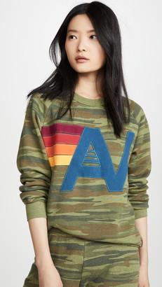 Aviator Nation Camo Logo Sweatshirt