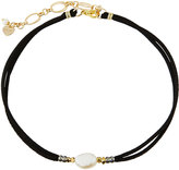 Nakamol Delicate Pearl & Suede Choker Necklace, Multi