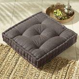 Square Tufted Jute Floor Cushion