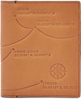 Fossil Men's Leather RFID Passport Case-Asia