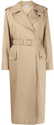 RED Valentino Belted-Waist Trench Coat