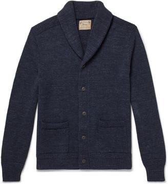 Polo Ralph Lauren Shawl-Collar Melange Cotton Cardigan