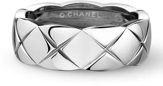 Chanel Small White Gold Co Co Crush Ring