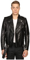 Marc Jacobs Crosby Leather Jacket Men's Coat