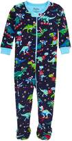 Hatley Mini Footed Coverall - Winter Sports T-Rex - 12-18 months - 79-84 cm
