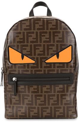 Fendi Monster monogram backpack