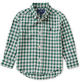 Ralph Lauren Little Boys 2T-7 Small-Check Twill Shirt