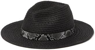 BCBGMAXAZRIA Straw Panama Hat