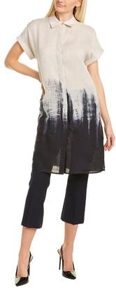 Lafayette 148 New York Jasarah Linen Shirtdress