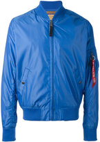 Alpha Industries zipped bomber jacket - men - Nylon/Polyester - S