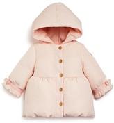 Armani Junior Armani Girls' Hooded Down Puffer Jacket - Sizes 12-36 Months