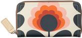 Orla Kiely Summer Flower Stem Big Zip Wallet - Sunset