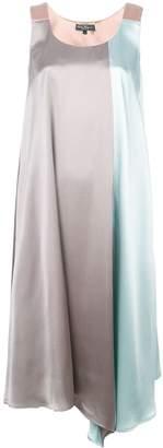 Salvatore Ferragamo two-tone midi dress