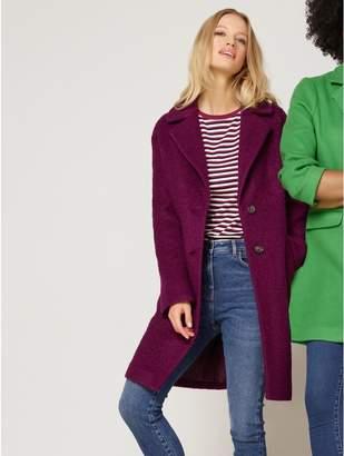 M&Co Boucle coat