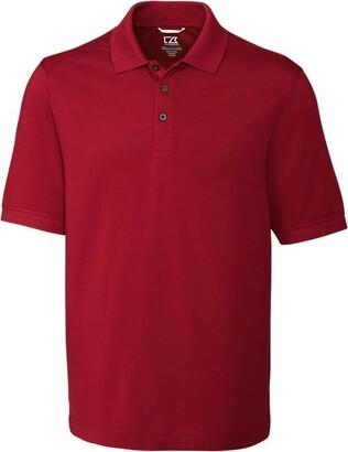 Cutter & Buck Men's Big and Tall 35+UPF Short Sleeve Advantage Polo Shirt